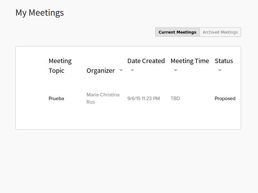 Timebridge, herramienta de organización de reuniones