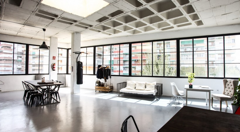 Alquiler de Espacios para Eventos de Empresa loft neoyorquino
