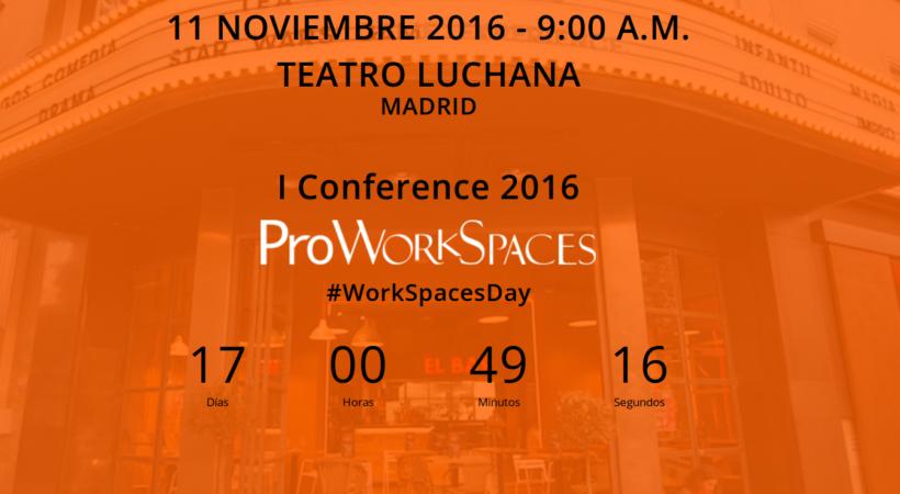 Proworkspaces, conferencia de la asociación de centros de negocios y coworking